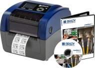 Промышленный принтер BBP12. Разрешение 300 dpi. В комплекте LabelMark 6 Pro, держатель рулона