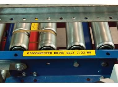 B85-150x15M-595-OR B-595 150 мм. Лента виниловая универсальная оранжевая. Длина 15 м. (BBP85/Powermark)