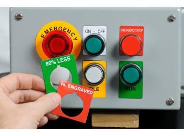 PTLEP-02-7593-RD этикетки (EPREP) красные