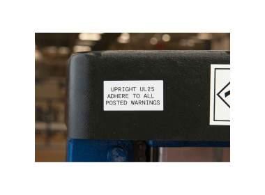 B-529 25 мм. Лента полипропиленовая экономичная для принтера Handimark. Длина 15 м.